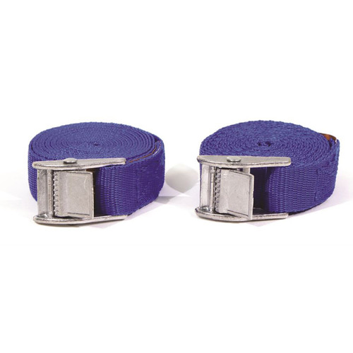 2 x 5 Metre Buckle Straps - TUV/GS Approved