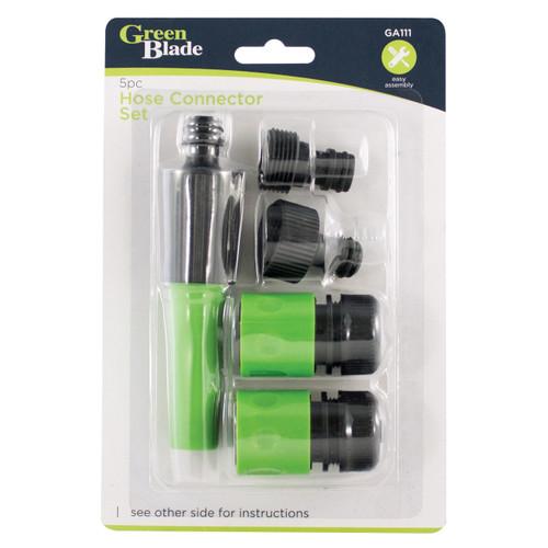 Green Blade 5pc Hose Connector Set