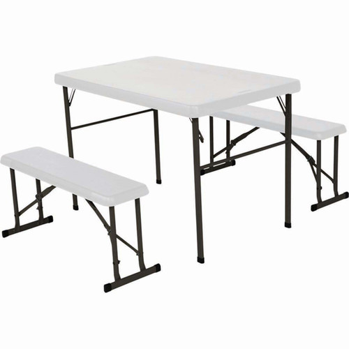Blow Moulded Picnic Table and Bench Set