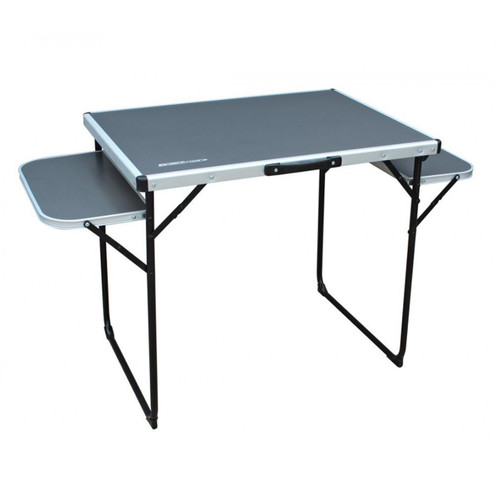 Outdoor Revolution Alu Top Camping Table 130x60 With Folding Side Tables