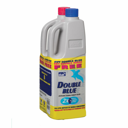 Elsan Double Strength Twin Pack Toilet Chemical