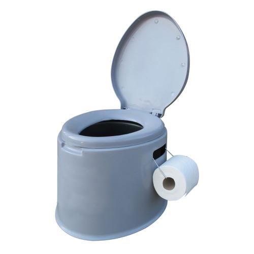 Kampa Khazi Portable Toilet - Toilet roll not included