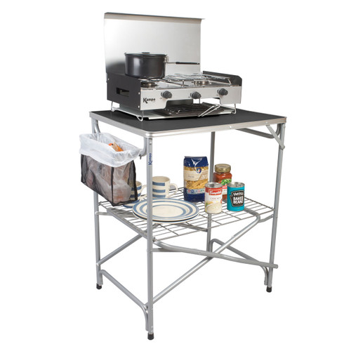 Kampa Major Field Kitchen (cooker and food,plates not included)