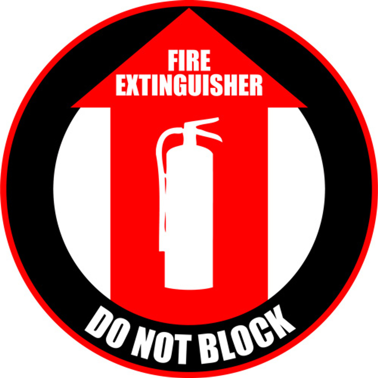 graphic relating to Printable Fire Extinguisher Signs referred to as Hearth Extinguisher: Do Not Block Surface area Indication