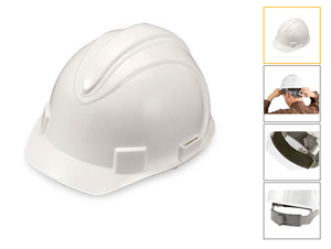 Standard Heavy Duty Hard Hats White