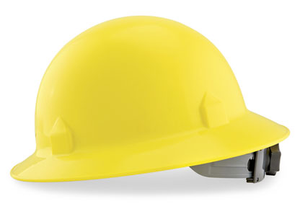Full Brim Hard Hats Yellow