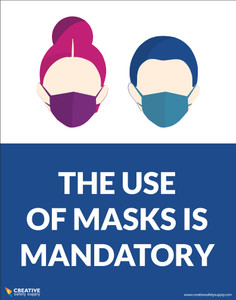 The Use of Masks Is Mandatory - Poster