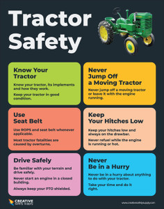 Tractor Safety - Poster