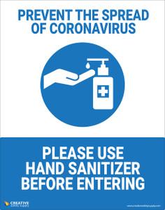 Prevent the Spread - Poster
