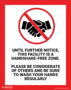 Handshake Free - Poster