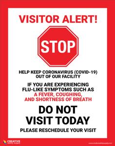 Visitor Alert - Poster