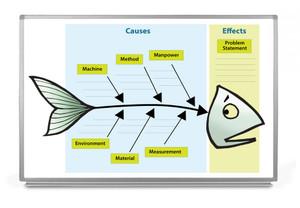 Fishbone Whiteboard