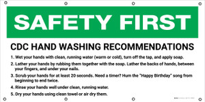 Safety First: CDC Hand Washing Recommendations - Banner
