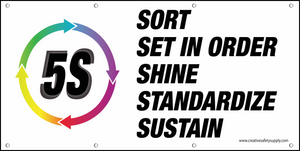 5S Circle Banner