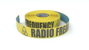 ANSI: Radio Frequency - Inline Printed Floor Marking Tape