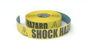 ANSI: Shock Hazard - Inline Printed Floor Marking Tape