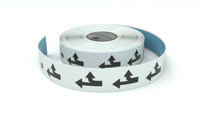 Traffic: Straight Right Roow - Inline Printed Floor Marking Tape
