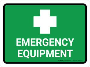 Emergency Equipment Landscape - Wall Sign