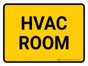 Hvac Room Landscape - Wall Sign