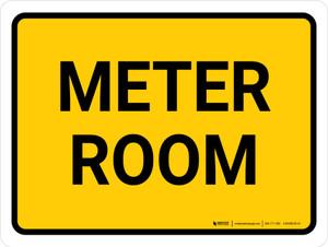 Meter Room Landscape - Wall Sign
