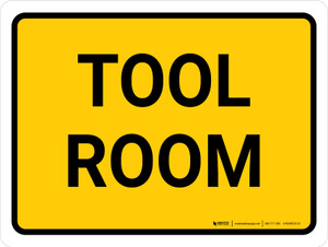 Tool Room Landscape - Wall Sign