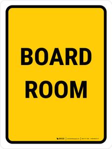 Board Room Portrait - Wall Sign