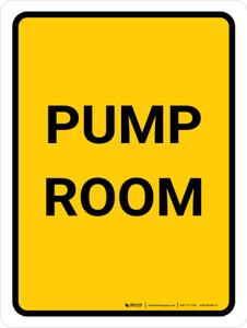 Pump Room Portrait - Wall Sign
