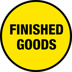 Finished Goods Sign