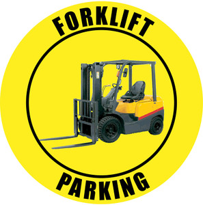 Forklift Parking Sign