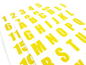 Smart Stripe Letters/Numbers
