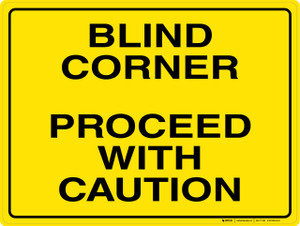 Blind Corner - Wall Sign