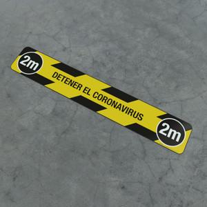 Detener El Coronavirus 2M - Social Distancing Strip