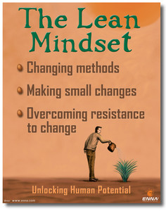 The Lean Mindset Poster