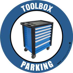 Toolbox Parking -  Floor Sign
