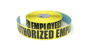 Authorized Employees Only - Inline Printed Floor Marking Tape