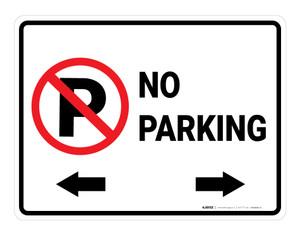 No Parking - Floor Marking Sign
