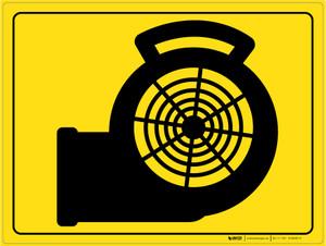 Floor Dryer - Floor Marking Sign