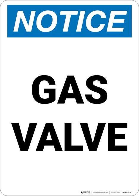 Notice: Gas Valve Portrait