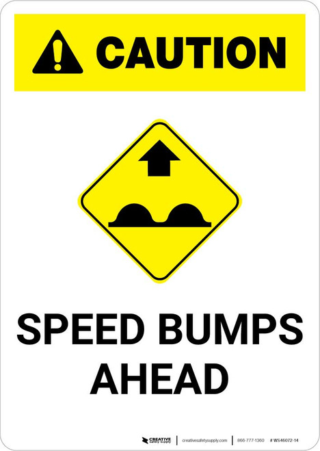 Caution: Speed Bumps Ahead with Icon Portrait