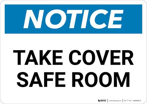 Notice: Take Cover Severe Weather Landscape