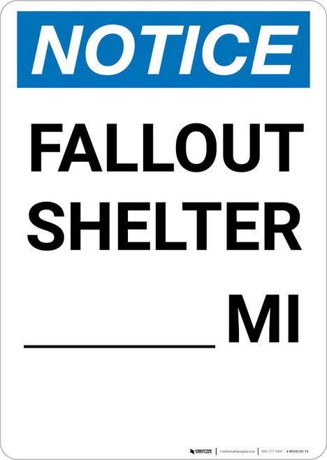 Notice: Fallout Shelter Custom Mile Portrait
