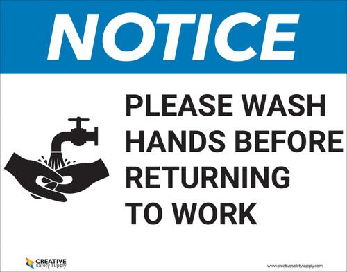 HZ-Please Wash Hands - Poster