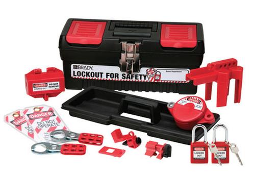Personal Basic Lockout Kit with Keyed-Alike Safety Padlocks