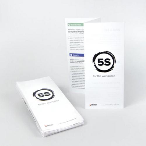 5S Steps Training Handout Z-Fold (25 pk)
