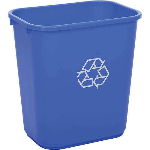 28-Quart Recycling Bin