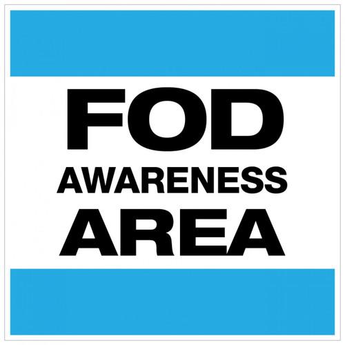 FOD Awareness Area Type A (Wall Sign)