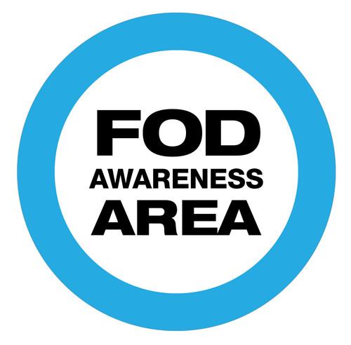 FOD Awareness Area Type A (Floor Sign)