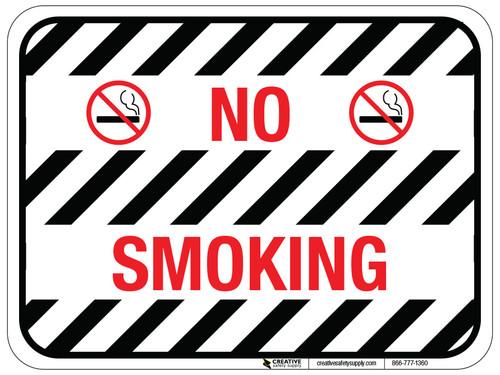 No Smoking - Floor Sign