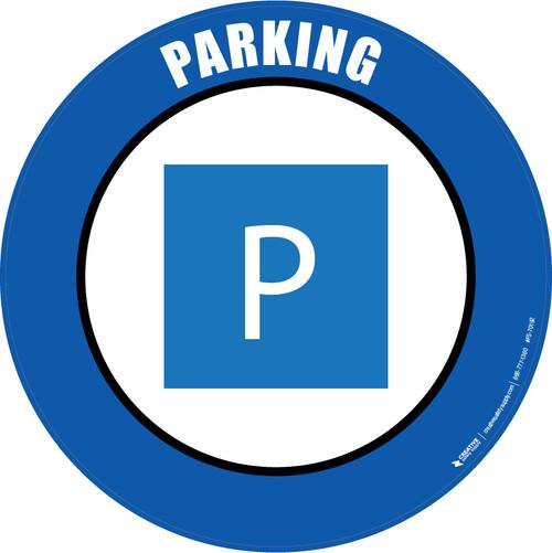 Parking Floor Sign