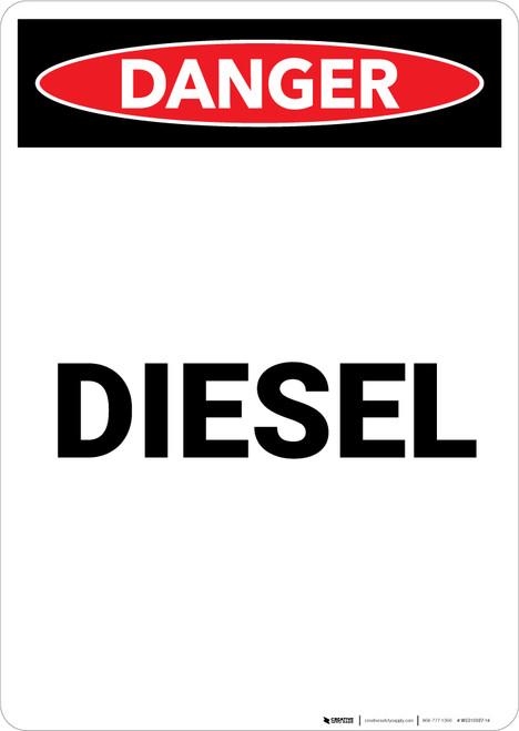 Diesel - Portrait Wall Sign